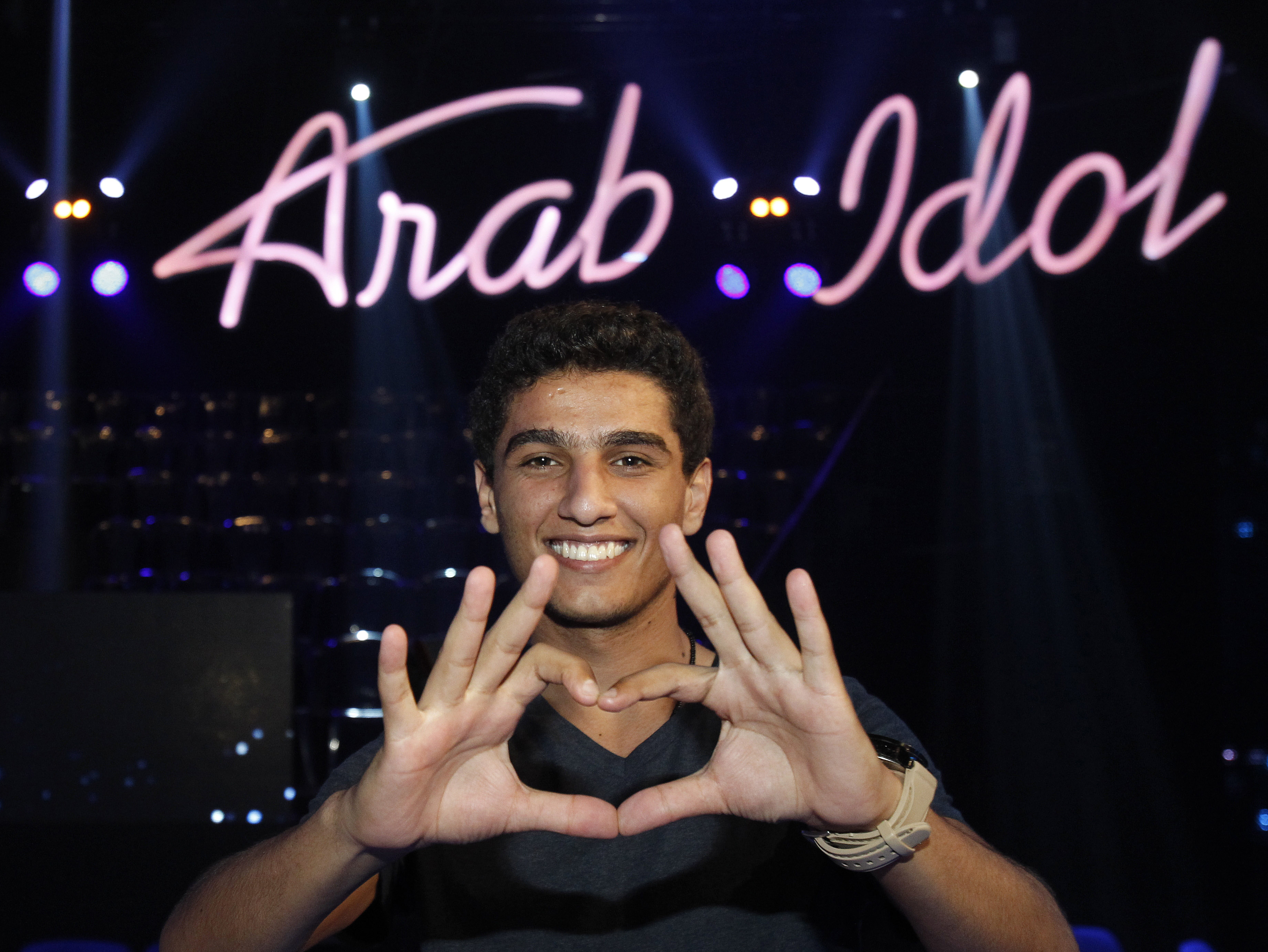 'Arab Idol' Finalist Delivers Sweet Music, Palestinian Pride
