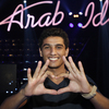 Palestinian performer Mohammad Assaf is a finalist on Arab Idol, which is filmed in the Lebanese city of Jounieh north of the capital Beirut.