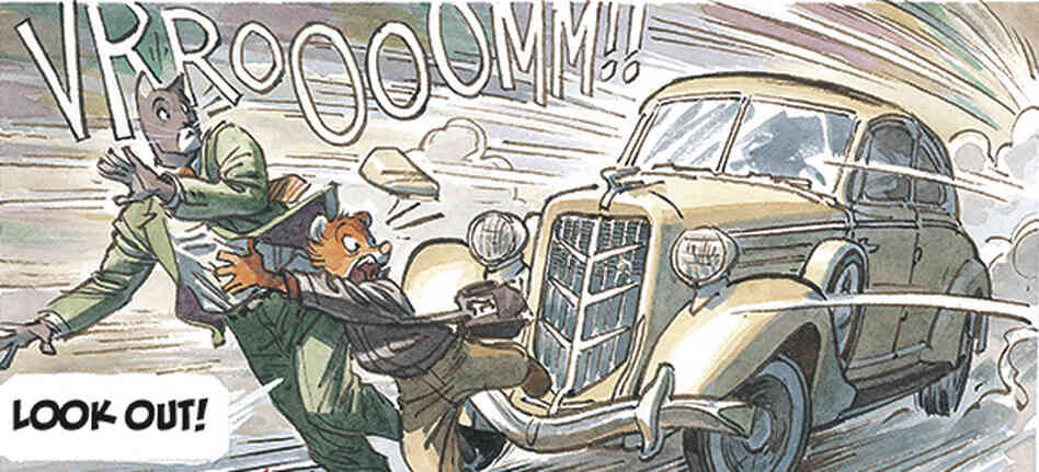 Cat detective John Blacksad investigates the disappearance of a famous pianist in Blacksad: A Silent Hell.