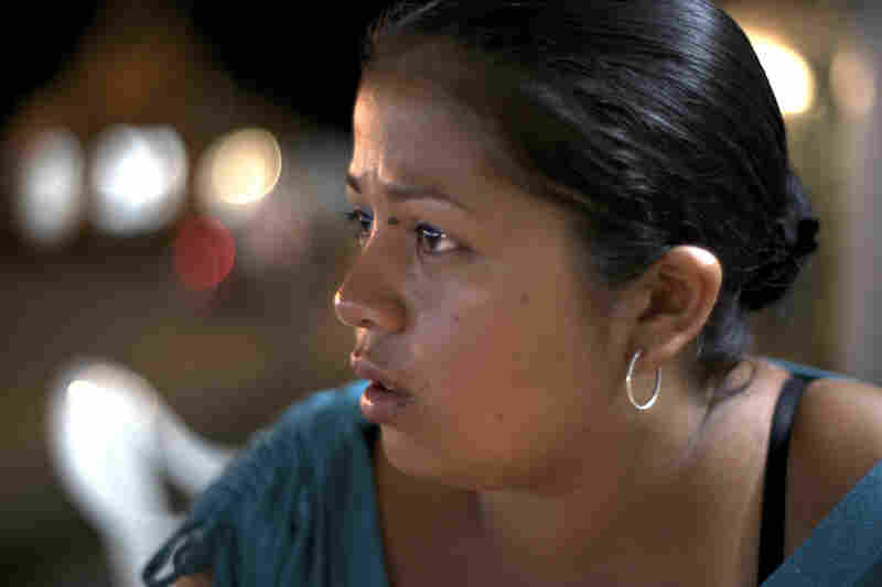 Brigitte Carreño was raped at the age of 12 by a paramilitary commander, and then raped by other paramilitary commanders before her family fled El Placer.