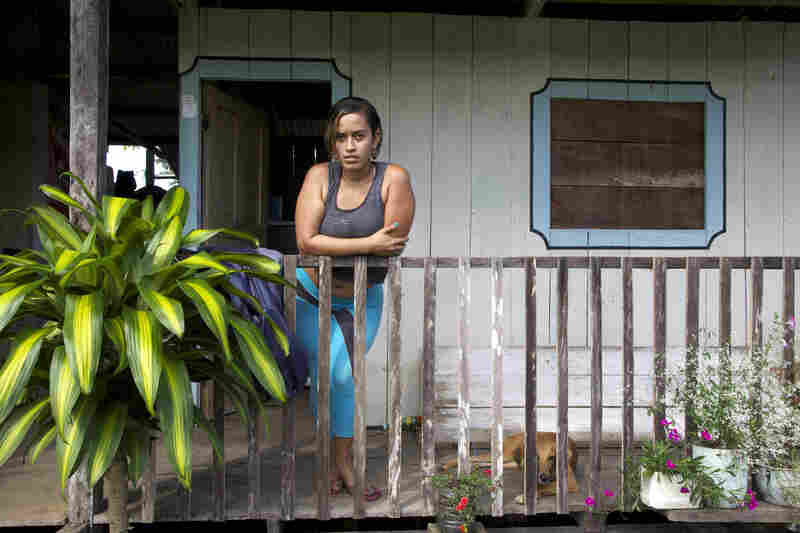 Blanca Nubia Hernandez lived in fear when the paramilitaries ran El Placer.