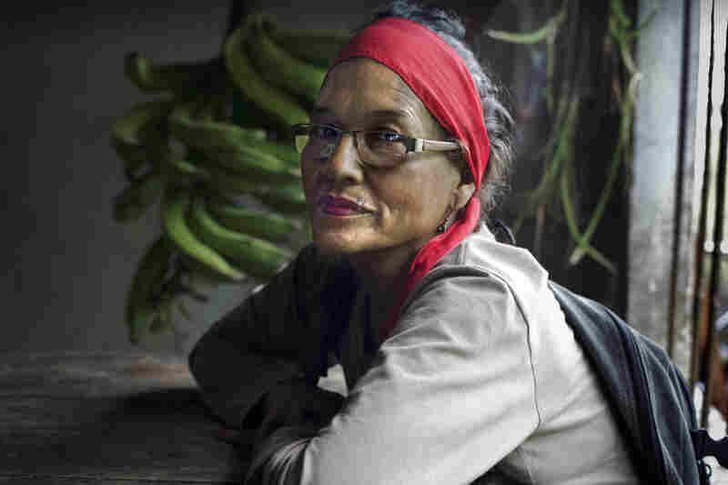 Hilda de Carmen Meneses says she was raped by a paramilitary commander.