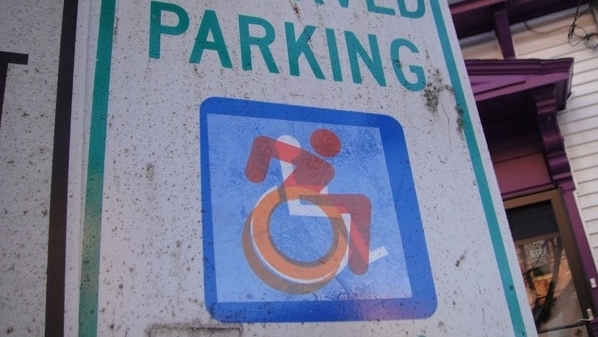 New Handicapped Sign Heads To Nyc Npr