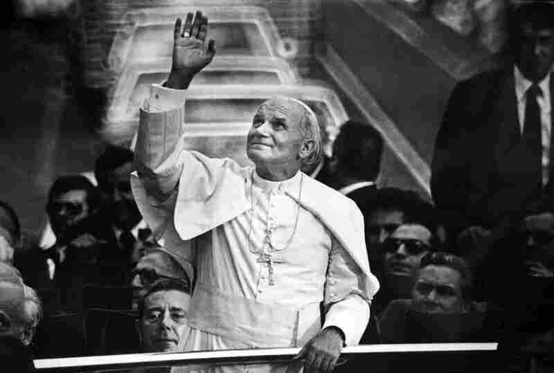 Pope John Paul ll in Mexico 1979