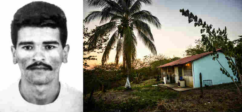 Benito Antonio Barrios was killed by police at the age of 28 on the back porch of this home in Guanayen, Venezuela.