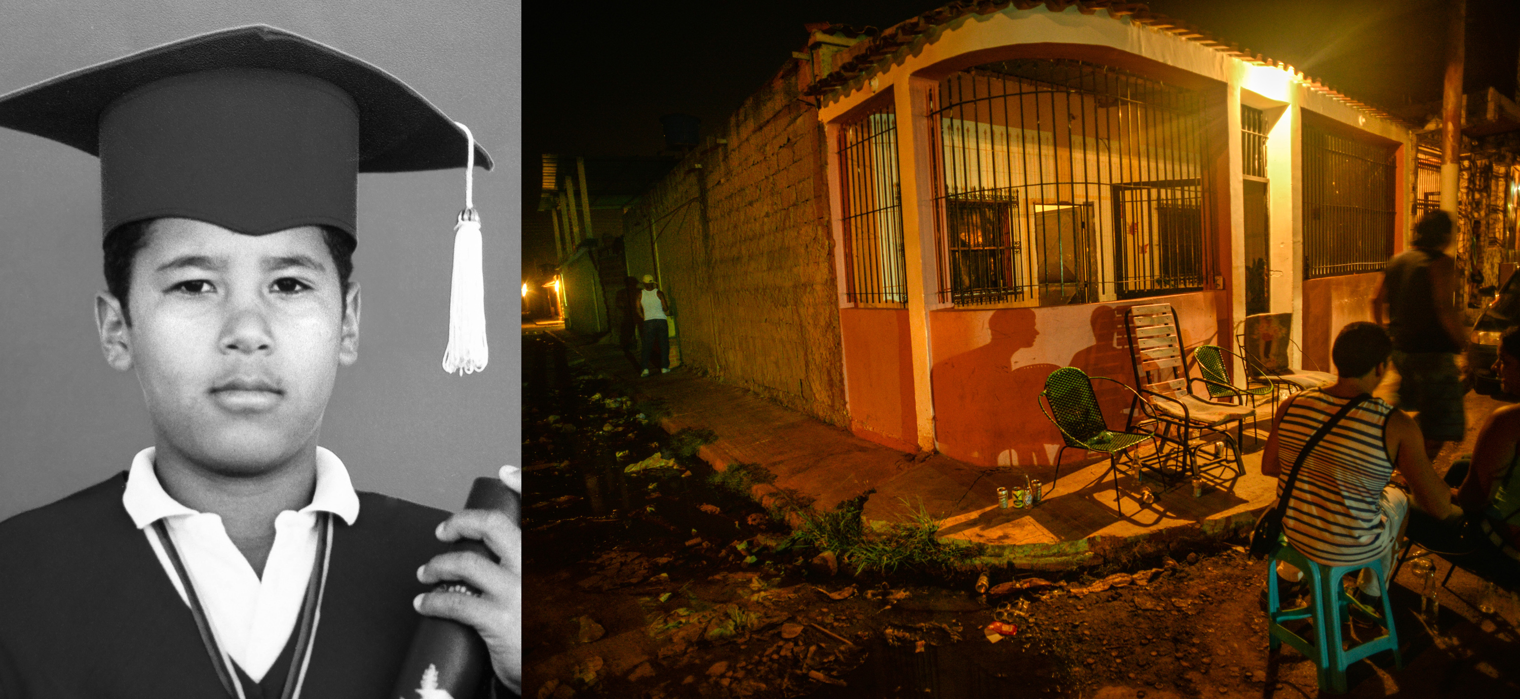 Jorge Antonio Barrios was killed by police when he was 24 years old, in this exact spot in Cagua, Venezuela.
