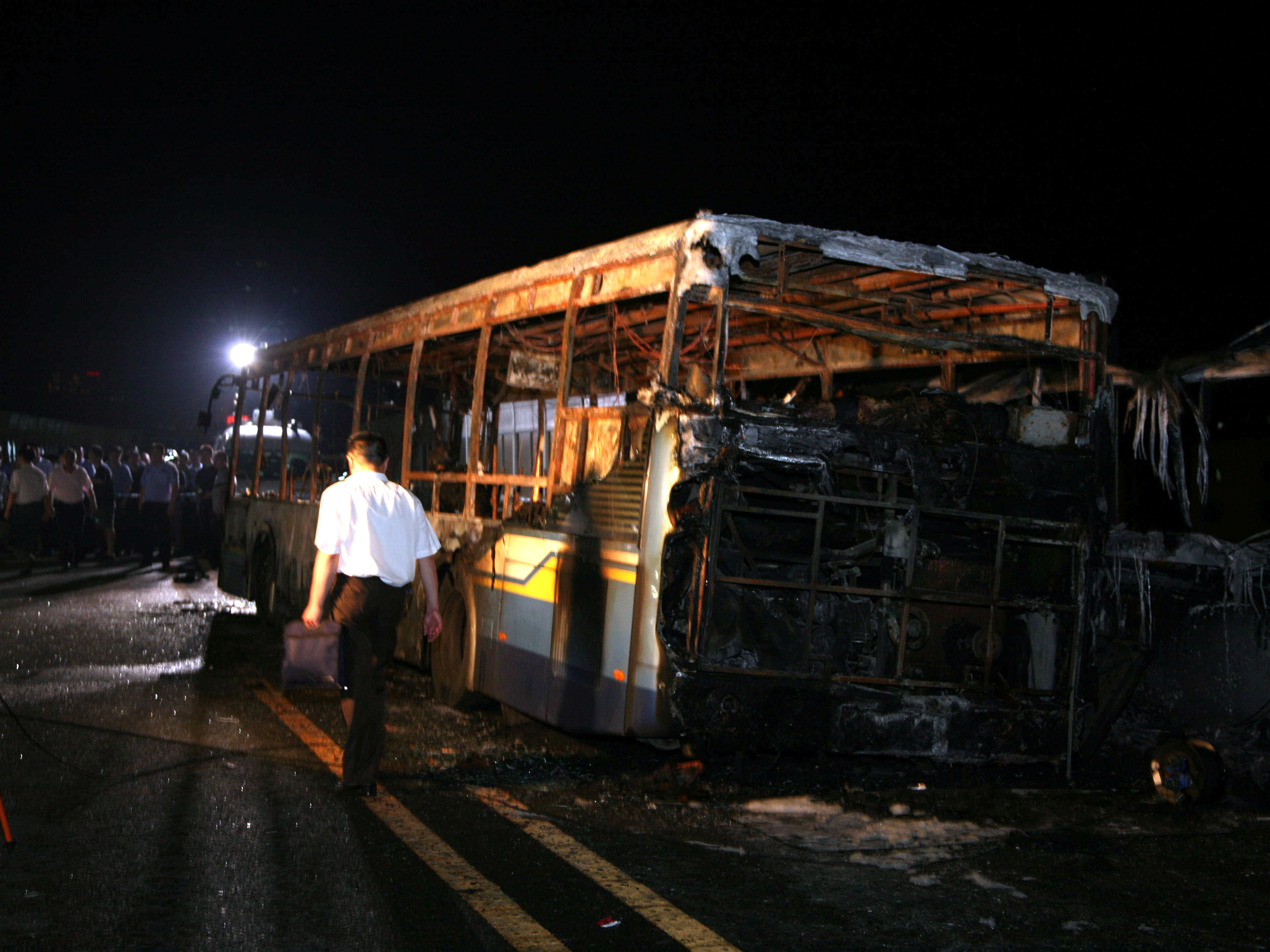 Authorities: China Bus Fire That Killed 47 Was Arson-Suicide