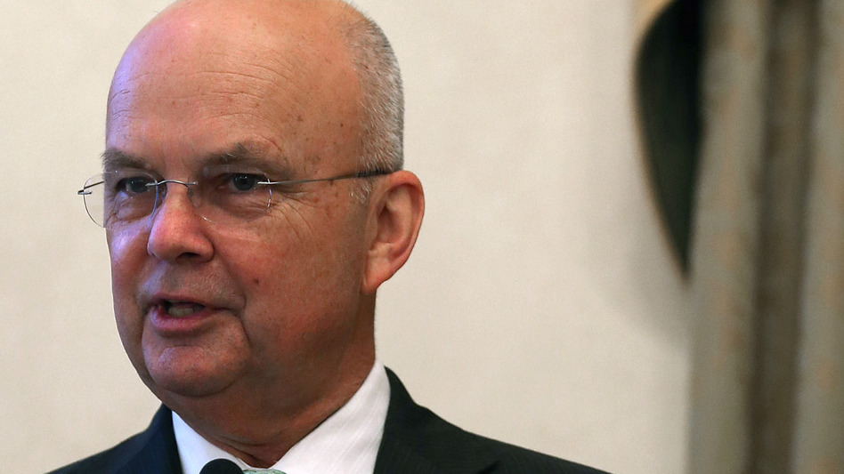 Retired Gen. Michael Hayden, former CIA and National Security Agency director, in a 2012 photo. (Getty Images)