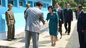 Delegations From Rival Koreas Meet At Panmunjom