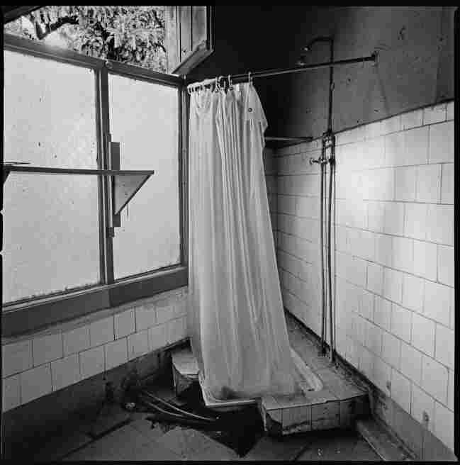 A bathroom in Londres 38, a former clandestine detention and torture center during the military dictatorship of Augusto Pinochet in downtown Santiago, Chile, November 2008.