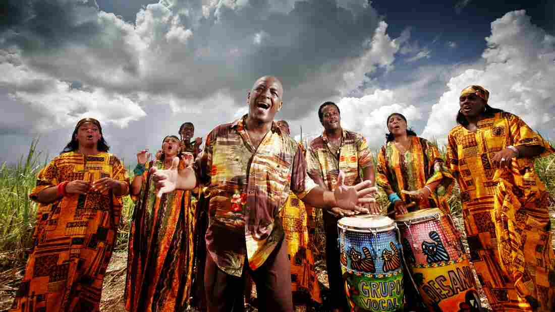 The Creole Choir of Cuba's latest album, Santiman, has a satisfying flow from celebration to solemnity.