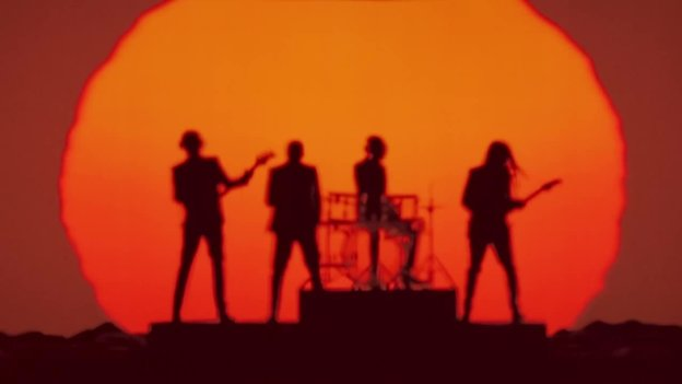"""Daft Punk in the video for """"Get Lucky,"""" one of NPR Music's favorite songs of the year so far."""