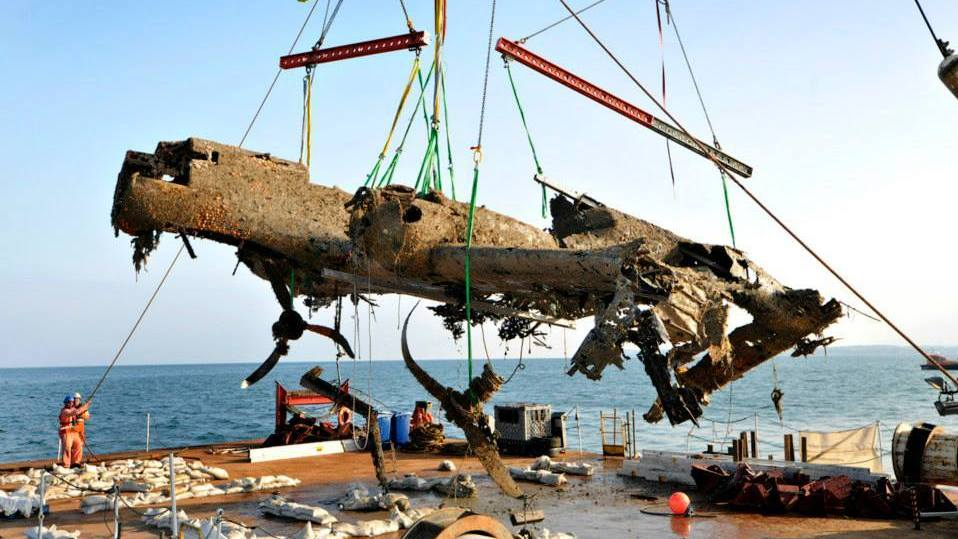 World War II-Era German Bomber Raised Near English Coast