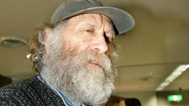 Former world chess champion Bobby Fischer in March 2005 as he left Japan for Iceland, where he lived out his final years. (Reuters /Landov)