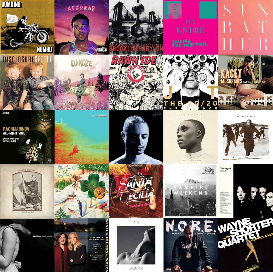 NPR Music's favorite 25 albums of the year (so far)