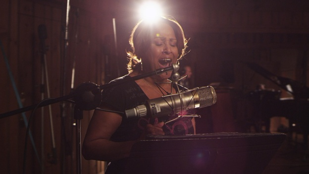 Darlene Love, one of the background singers featured in Twenty Feet From Stardom, didn't receive credit for singing hits in the 1950s and '60s and says her career was derailed by legendary producer Phil Spector. (Radius/TWC)