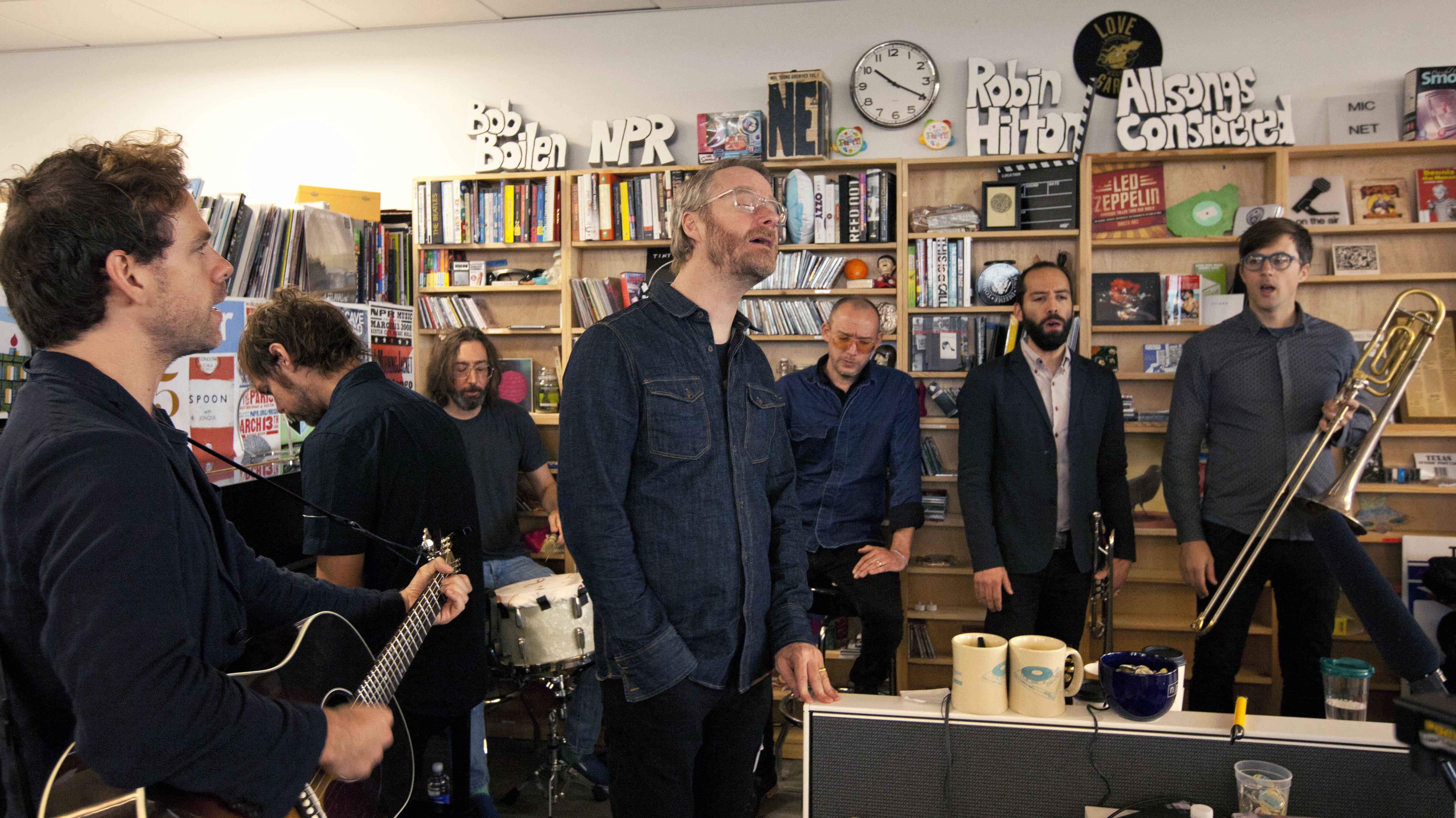 Andrea Echeverri: The National: Tiny Desk Concert : NPR
