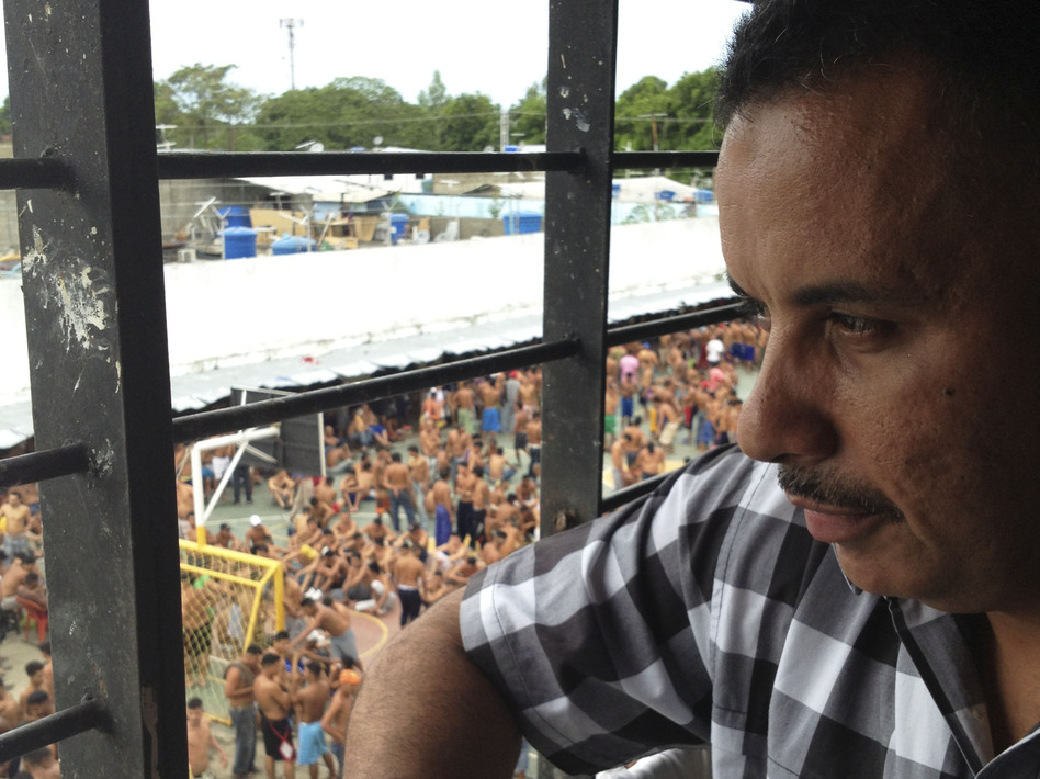 Wilmer Lopez is a former army sergeant serving a 20-year sentence for his role in a robbery and murder in 2002. Inside the Barinas prison, he is the boss. (NPR)