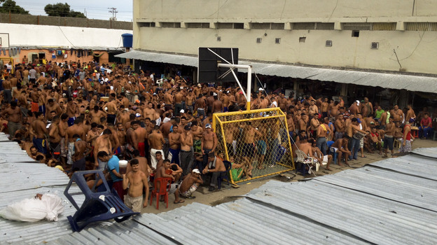 At this prison in Barinas, Venezuela, the inmates are in charge. (NPR)
