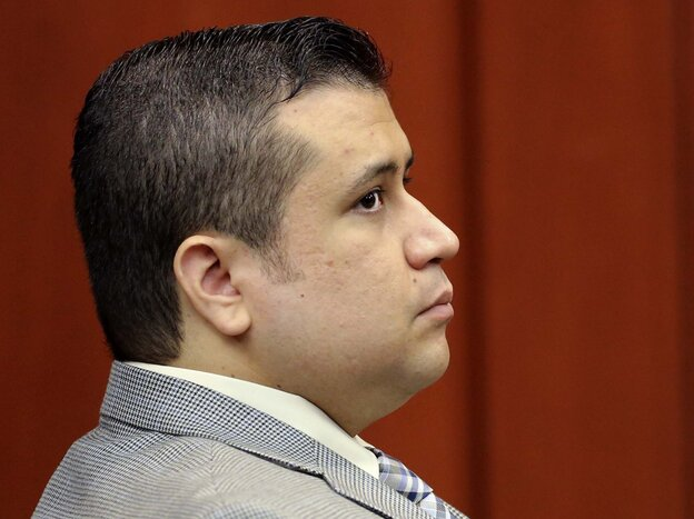 George Zimmerman, the man accused of second-degree murder in the shooting death of Trayvon Martin.