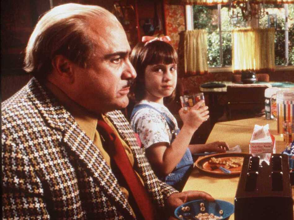 Mara Wilson starred with Danny DeVito in the 1996 movie Matilda. (Getty Images)