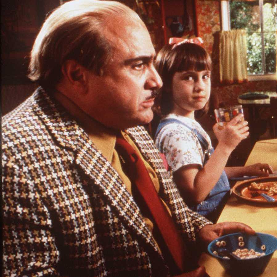Mara Wilson starred with Danny DeVito in the 1996 movie Matilda.