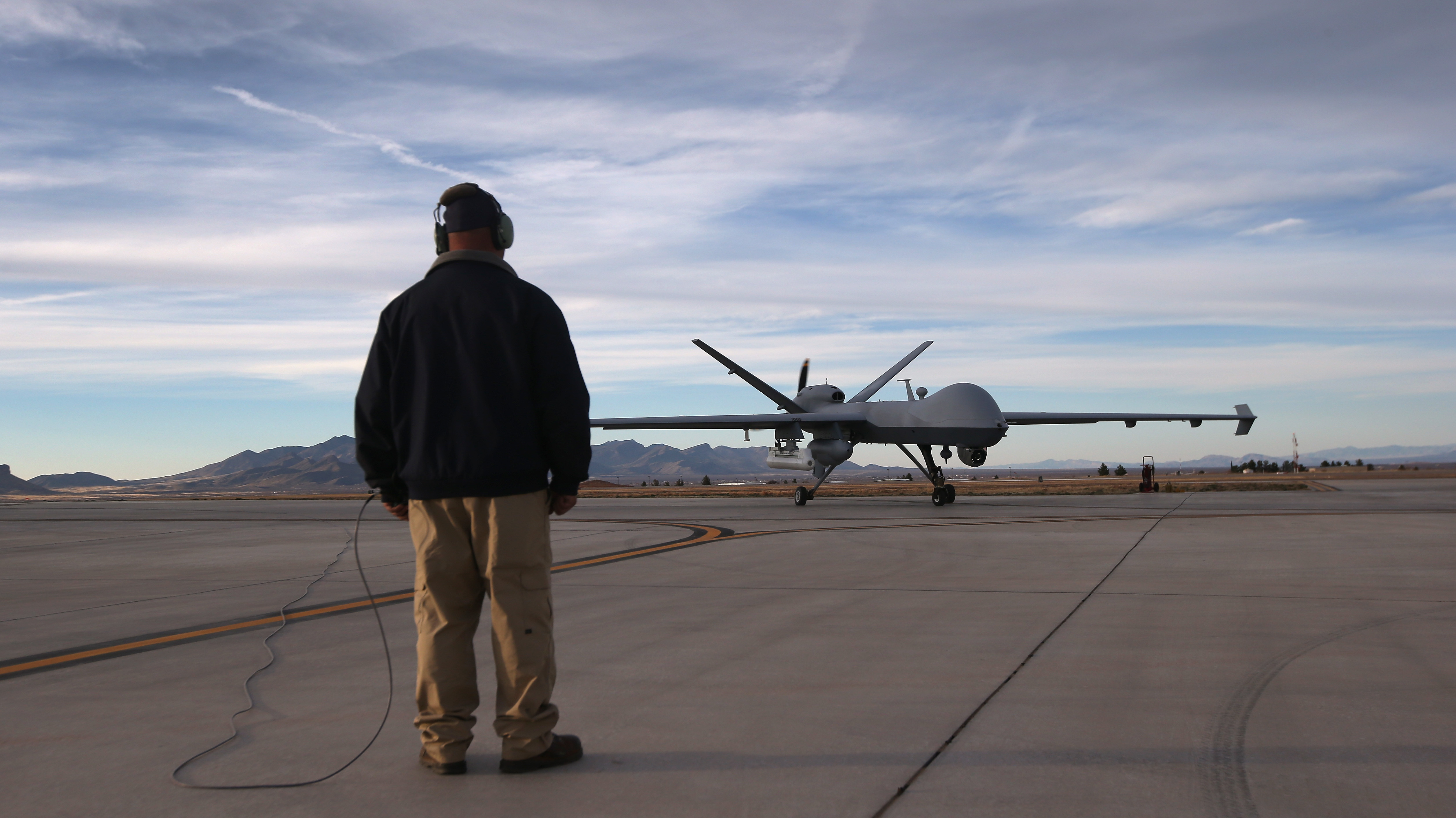 Border Drones Fly Into Fight Over Immigration