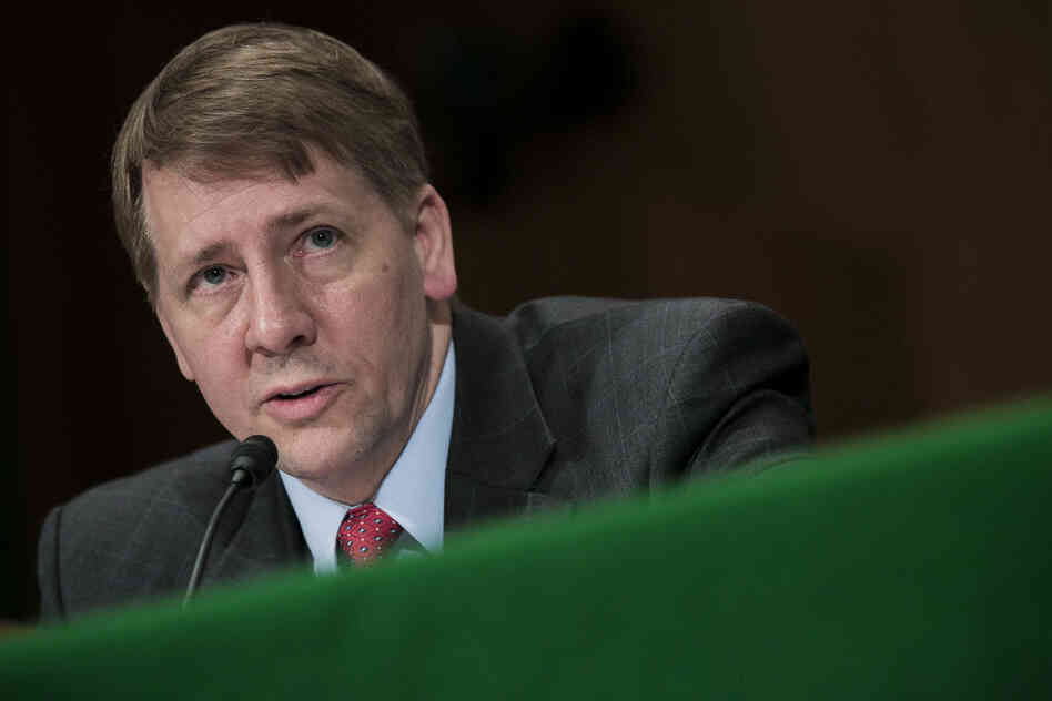 Richard Cordray, the director of the Consumer Financial Pro