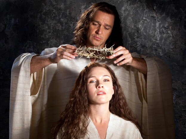 Nathan Gunn and Sasha Cooke star in the new opera The Gospel of Mary Magdalene as Yeshua (the Hebrew name of Jesus) and the title character.