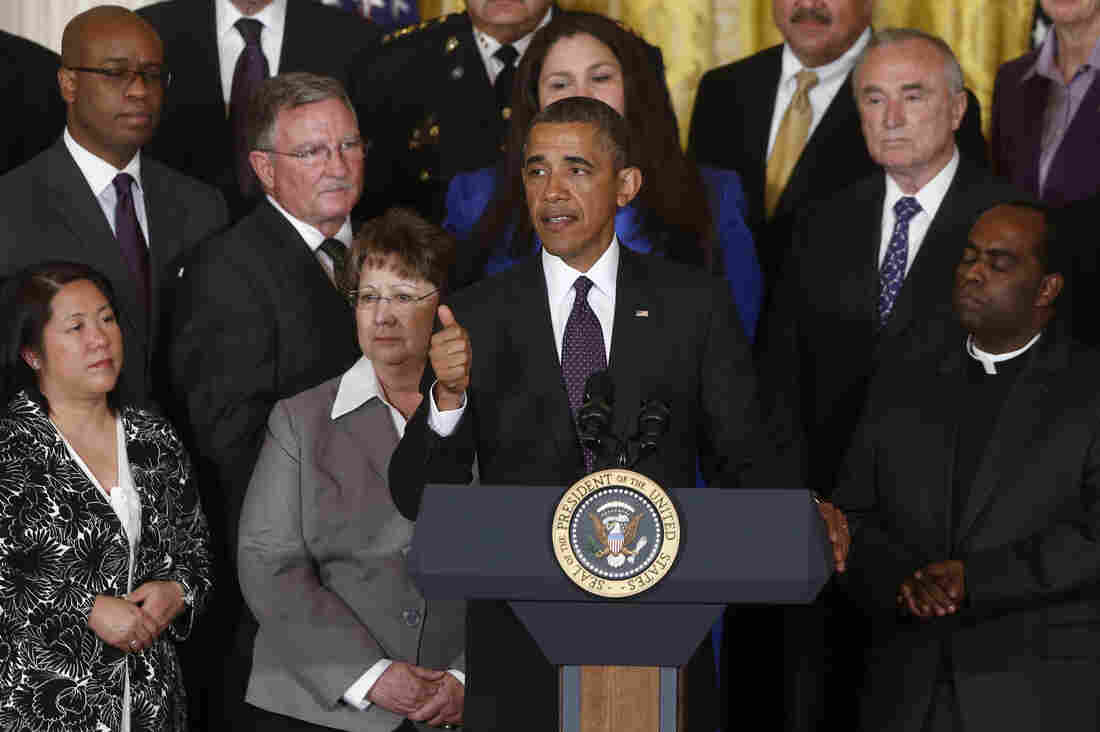 A White House event on Tuesday, where President Obama was aware that his support for immigration legislation could be the kiss of death.