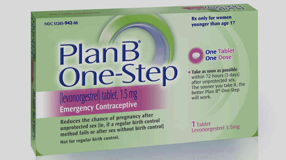 The administration won't try to restrict prescription-free access to this morning-after pill by age anymore.