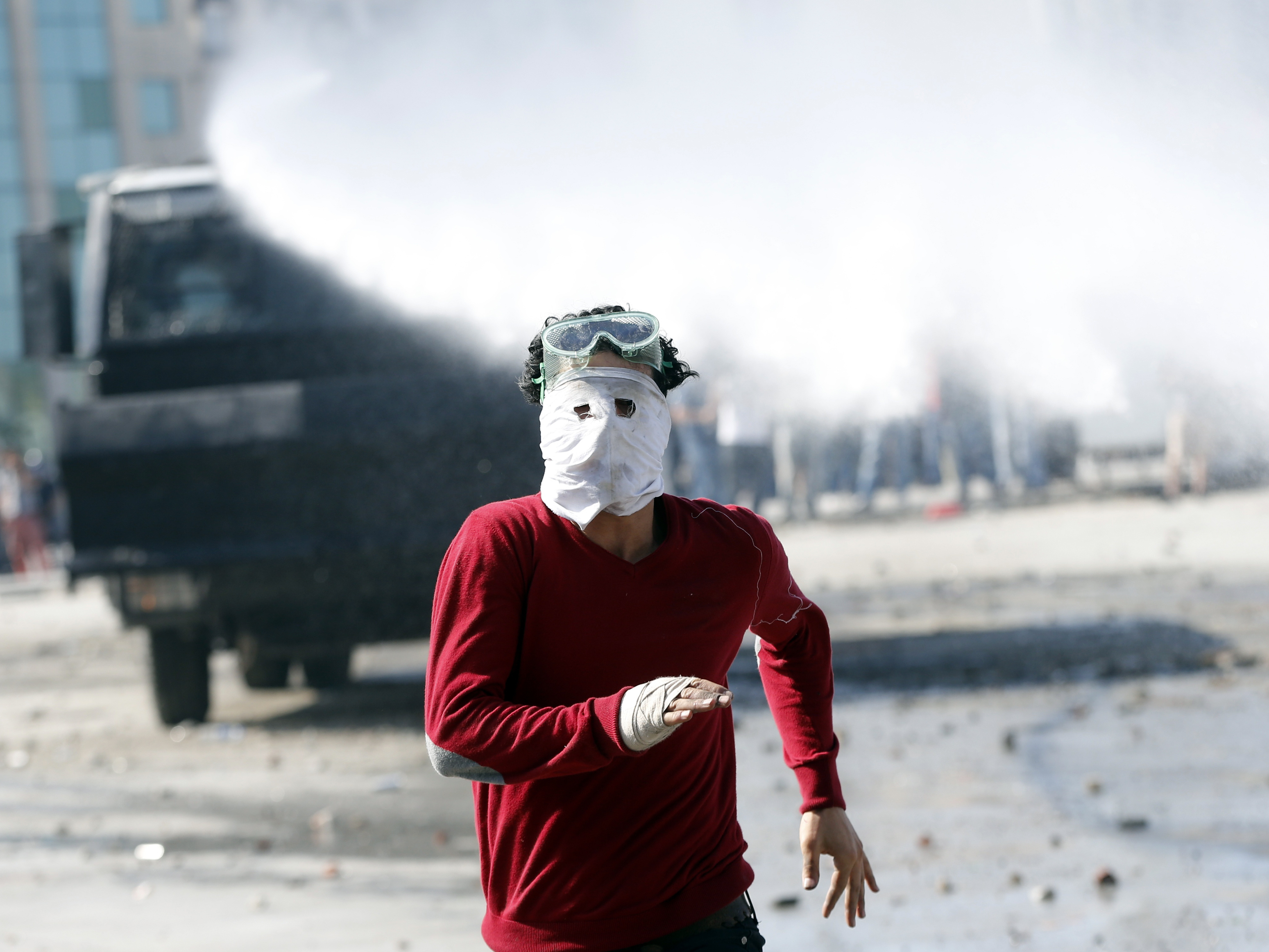 In Istanbul, Clashes Resume Between Police And Protesters