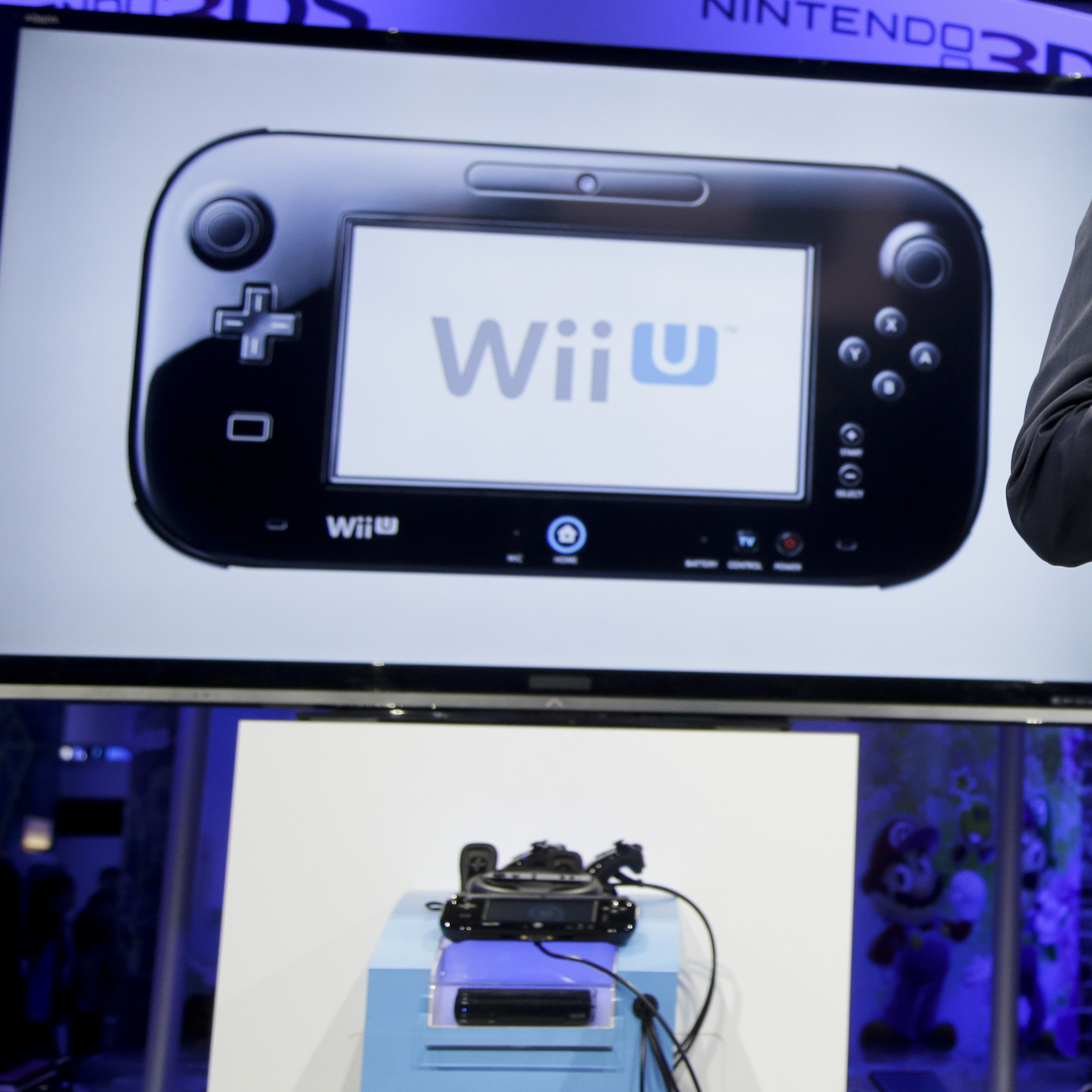 Nintendo's next-generation console, the Wii U, has been available since November. So far, it has sold 3.45 million units.