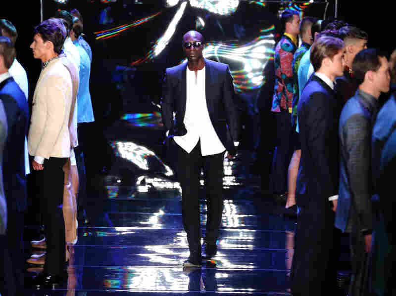 "Actor Laurence Fishburne once said, ""When you wear an Ozwald Boateng suit, you become a statesman of cool."""
