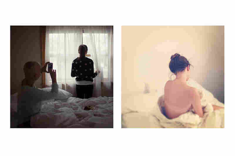 sunday morning marveling(Left by Elizabeth Griffin; right by Amelia Coffaro)