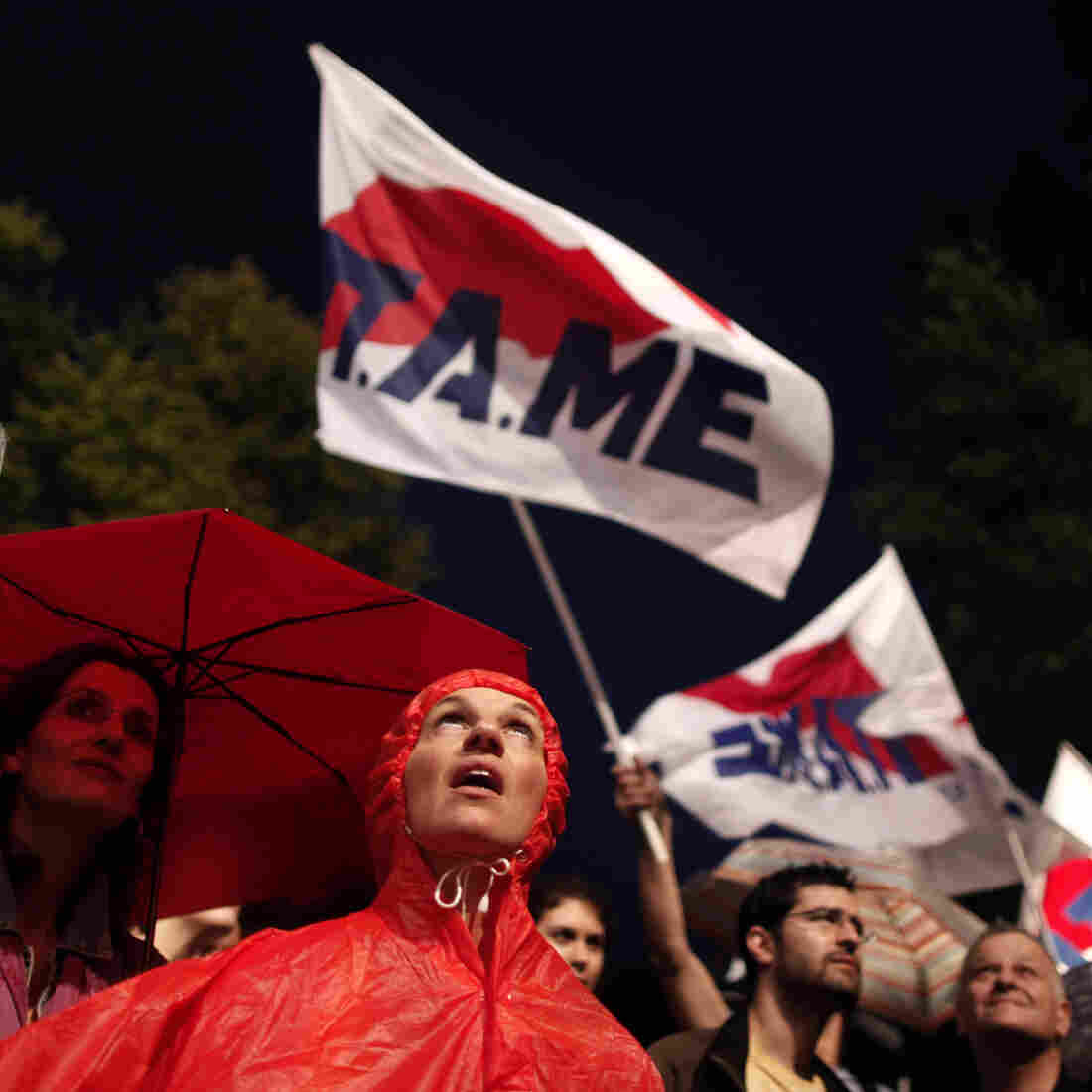 'Now What?': Greeks Confront Shutting Of Public Broadcaster