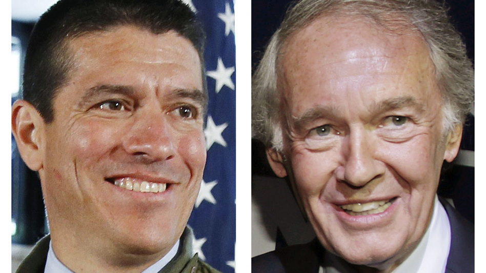 Recent polls suggest Massachusetts Republican Gabriel Gomez (left) is within striking distance of Rep. Ed Markey (right) in a contest for a U.S. Senate seat. (AP)