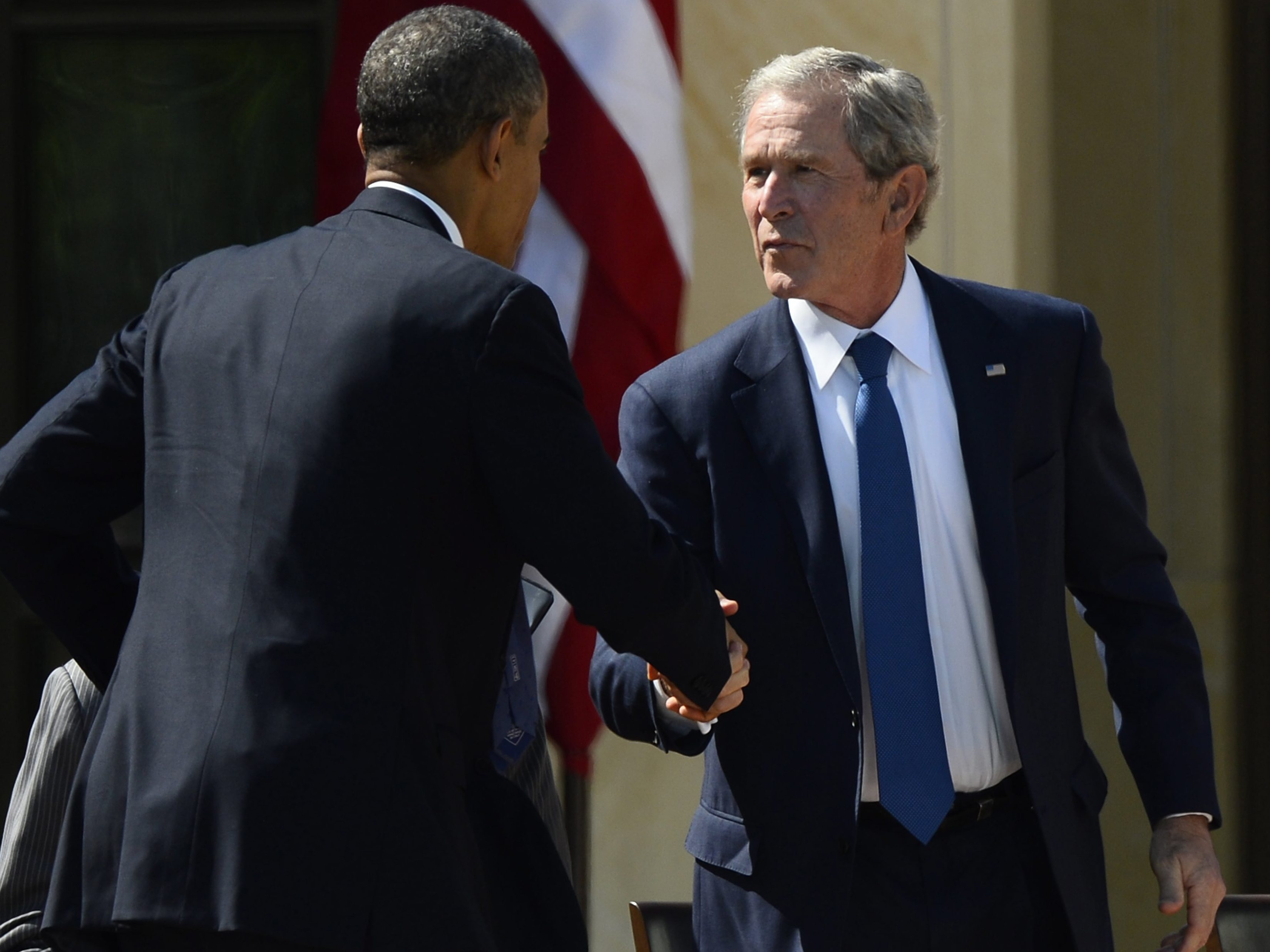 Public's Opinion Of George W. Bush Is Turning Positive