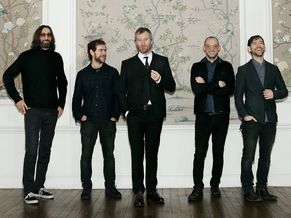The National's new album is titled Trouble Will Find Me.
