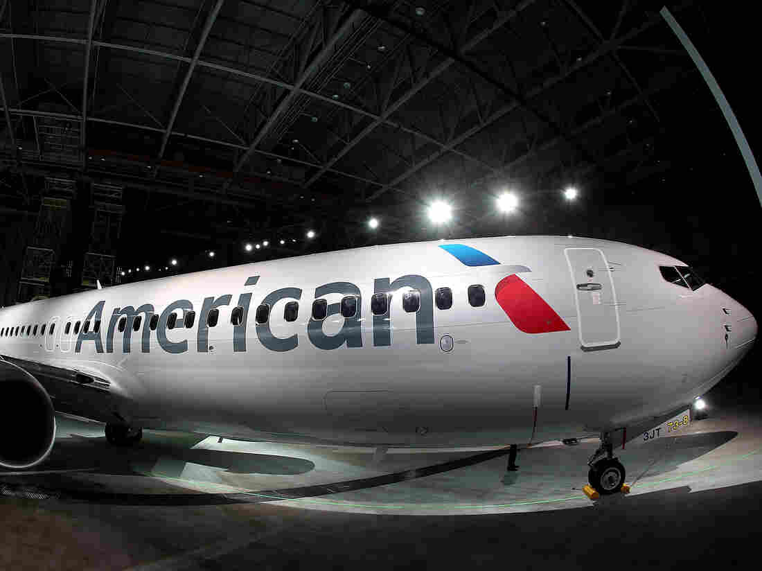 Room for a few more seats? An American Airlines Boeing 737-800 aircraft.