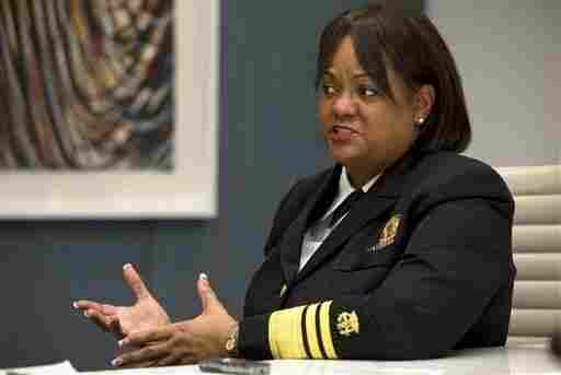 Surgeon General Regina Benjamin speaks on health disparities in Washington, D.C., on Dec. 5, 2012.