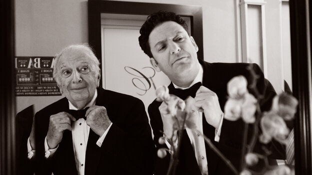Father and son Bucky and John Pizzarelli have been playing guitar together since the latter was a kid.