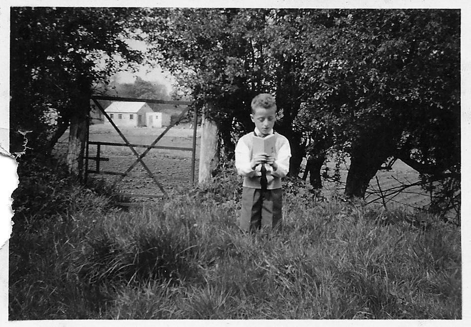 Bobbie Hanvey as an altar boy. (Courtesy of the Hanvey family)