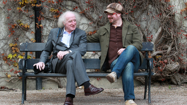 Bobbie Hanvey and his son Steafán Hanvey, in Northern Ireland. (Courtesy of Peter Muhly)