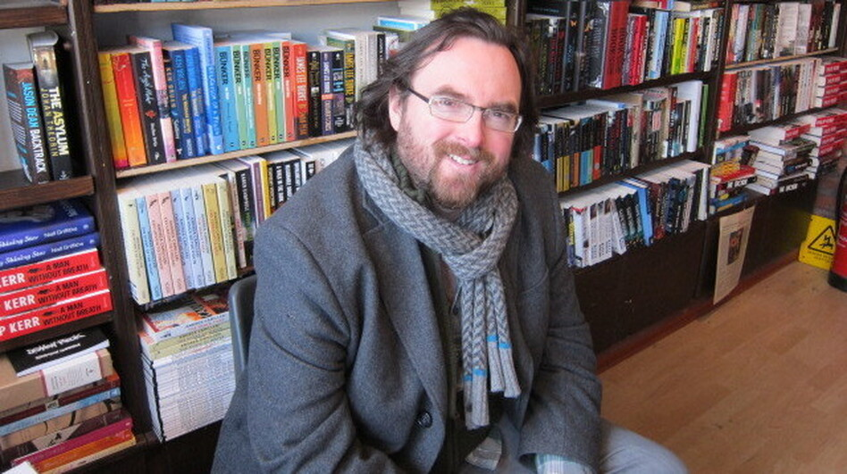 Belfast's No Alibis Bookstore has helped launch at least two of Stuart Neville's mysteries. (NPR)