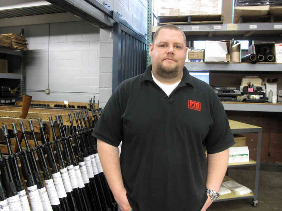 Josh Fiorini's Connecticut-based company builds high-end semi-automatic rifles. He says the state's tough new gun law gives him no choice but to move.