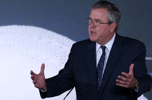 """Immigrants are more fertile, and they love families,"" former Florida Gov. Jeb Bush said Friday at the Faith and Freedom Coalition conference. Bush's statem"