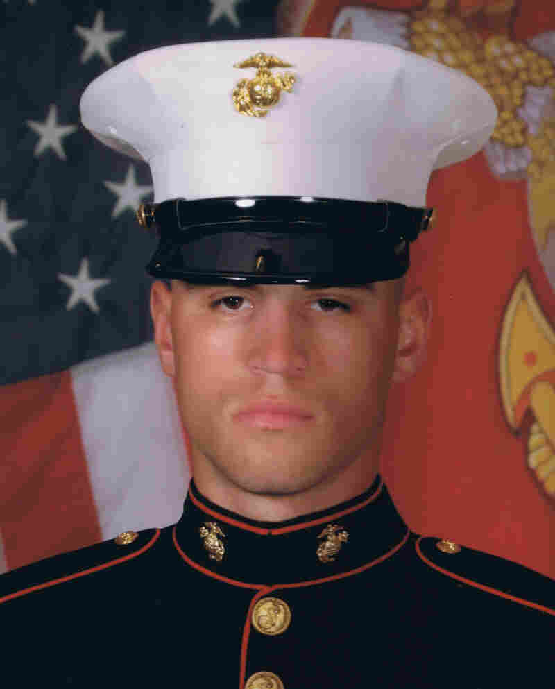 "Lance Cpl. Nicholas Rodriguez joined the Marines at the age of 21. He ""wanted to go and help the world in some way,"" says his stepfather, Michael Geiger."