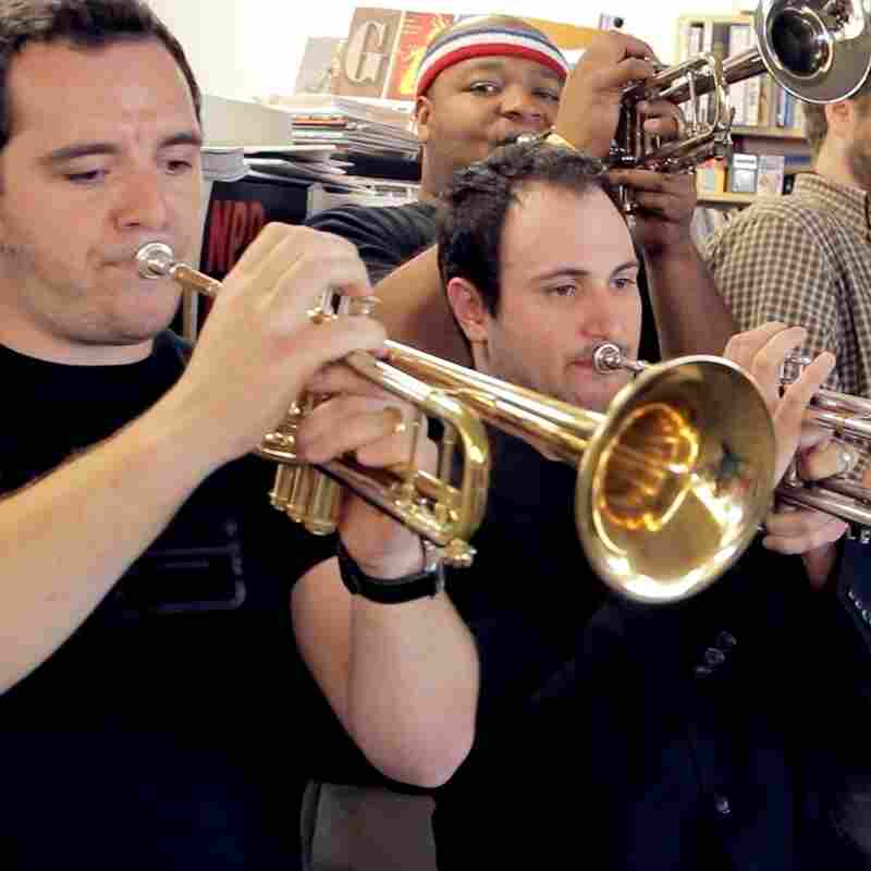 NO BS! Brass Band performs a Tiny Desk Concert.