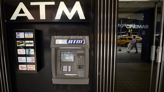 Weekend Edition Saturday host Scott Simon says he now realizes ATM machines represented the dawn of the digital age. (AFP/Getty Images)